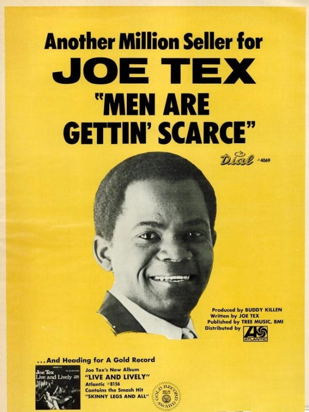 Tex, Joe - 02-68 - Men Are Getting Scarce