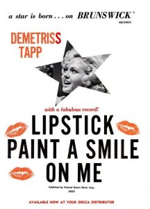 Trapp, Demetriss - 10-64 - Lipstick Paint a Smile on Me