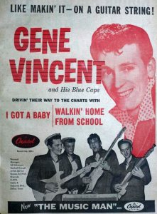 Vincent, Gene & Blue Caps - 01-58 - I Got a Baby