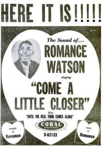 Watson, Romance - 07-59 - Come a Little Closer