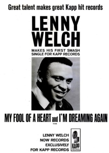 Welch, Lenny - 02-65 - My Fool of a Heart