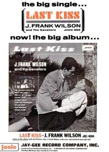 Wilson, J. Frank & Cavaliers - 10-64 - Last Kiss