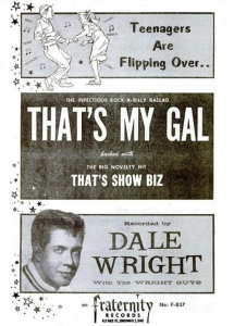 Wright, Dale - 04-59 - That's My Gal
