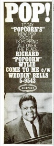 Wylie, Richard Popcorn - 10-62 - Come to Me