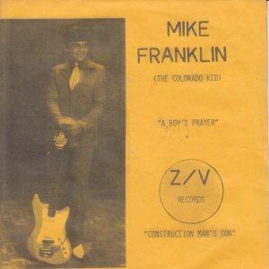 ZV 10001 - FRANKLIN, MIKE - BOY'S PRAYER PS