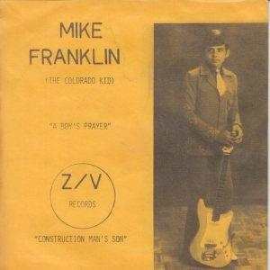 ZV 10001 - FRANKLIN, MIKE - BOY'S PRAYER PSB