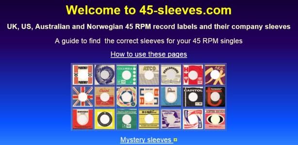 45 sleeves