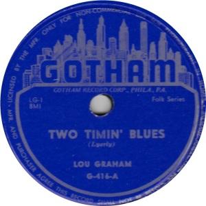 1951 - GOTHAM 416 A