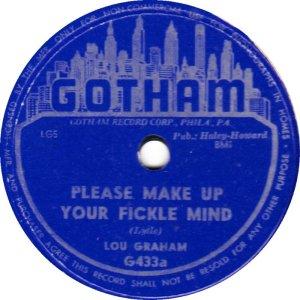 1951 - GOTHAM 433 A