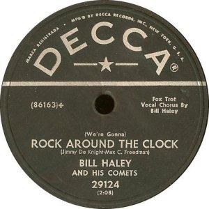 1954-05 - DECCA 29124 - HALEY & COMETS A