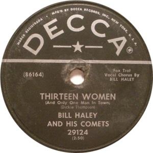 1954-05 - DECCA 29124 - HALEY & COMETS B