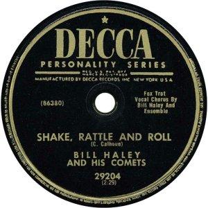 1954-07 - DECCA 29204 - HALEY & COMETS A