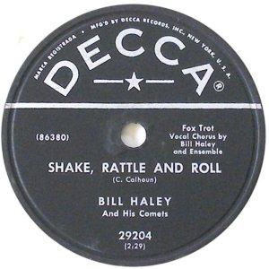 1954-07 - DECCA 29204 - HALEY & COMETS AV
