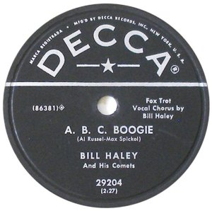 1954-07 - DECCA 29204 - HALEY & COMETS BV
