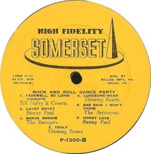 1954 - SOMERSET LP 1300 B