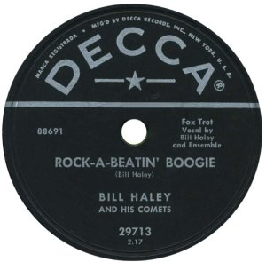 1955-11- DECCA 29713 - HALEY & COMETS A