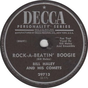 1955-11- DECCA 29713 - HALEY & COMETS AV