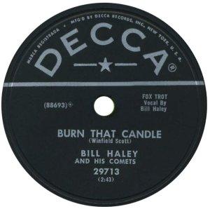 1955-11- DECCA 29713 - HALEY & COMETS B