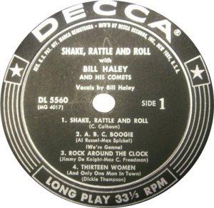 1955 - DECCA LP 5560 A