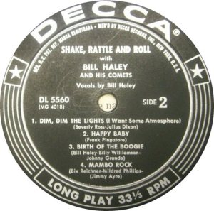 1955 - DECCA LP 5560 B