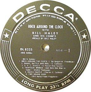 1955 - DECCA LP 8225 A