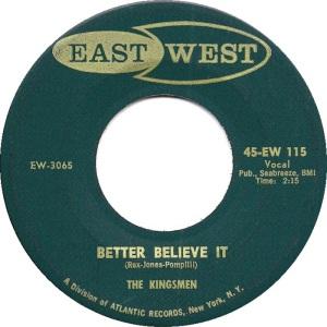 1958 - EAST WEST 115 B