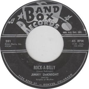 BAND BOX 281 - DEKNIGHT, JIMMY - ROCK A BILLY