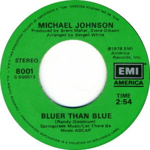 EMI 8001 - JOHNSON, MICHAEL - BLUER THAN BLUE