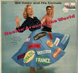 HALEY - DECCA LP ROCKIN AROUND THE WORLD A