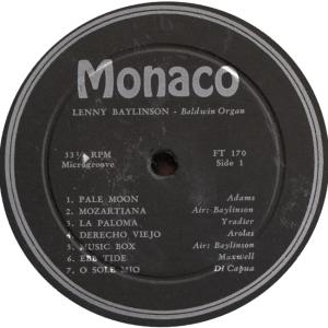 MONOCO 170 - BAYLINSON LP