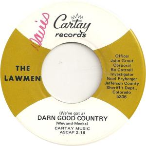 Cartay 5336 - Lawmen - Darn Good Country