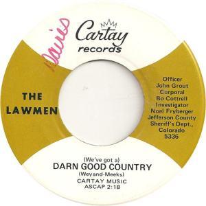 Cartay 5336 - Lawmen - Darn Good Country