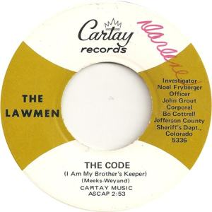 Cartay 5336 - Lawmen - The Code