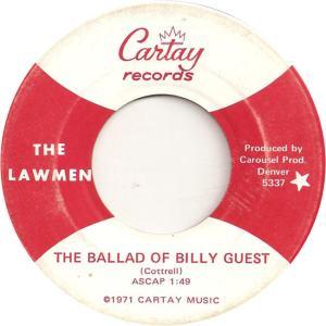 Cartay 5337 - Lawmen - The Ballad of Billy Guest