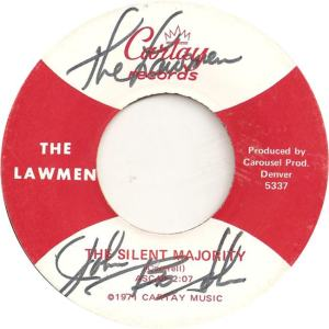 Cartay 5337 - Lawmen - The Silent Majority