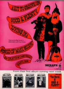 Good & Plenty - 1967 CB - World of Make Believe