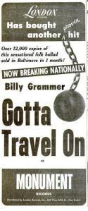 Grammer, Billy - 10-58 - Gotta Travel On