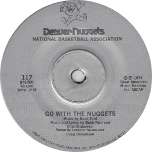 GREAT AMERICAN 117 - NELSON SUZANNE - GO WITH NUGGESTS PS C