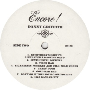 GRIFFITH, DANNY - JACKSON SOUND 43192 - RB