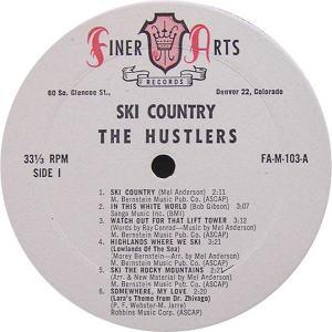 Hustlers - Finer Arts LP 103 - Hustlers Ski Country SD 1 (1)
