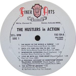 Hustlers - Finer Arts LP 104 - Hustlers In Action BC (2)