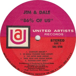 JIM AND DALE - UA 6706 - RA