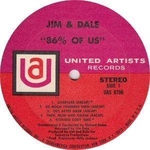 JIM AND DALE - UA 6706 - RA