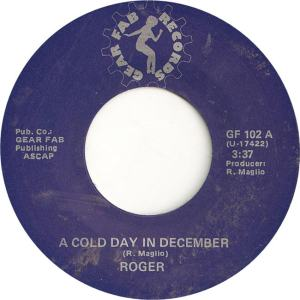 Roger - Gear Fab 102 - A Cold Day in December