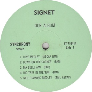 SYNCHRONY - SIGNET 710414 RB