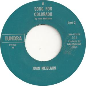 Tundra 22073 - Meislahn, John - A Song for Colorado Part 2