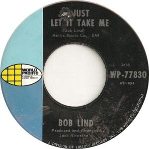 World Pacific 77830 - Lind, Bob - Just Let It Take Me