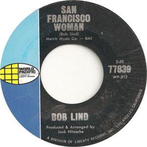 World Pacific 77839 - Lind, Bob - San Francisco Woman
