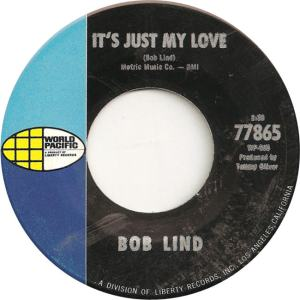 World Pacific 77865 - Lind, Bob - It's Just My Love
