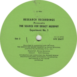 RESEARCH RECORDINGS 23677 - BERNSTEIN - BRIDEY MURPY RA